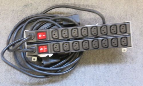 2 HP PDU Power Distribution Extension Bar 8 Socket 228480-002 252638-001 EO4601